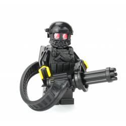 Heavy Gunner Minigun Soldier Minifigure