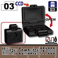Военный ноутбук ПФ1000 черный