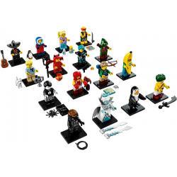 71013 Minifigure, Series 16 (Complete Series of 16 Complete Minifigure Sets)