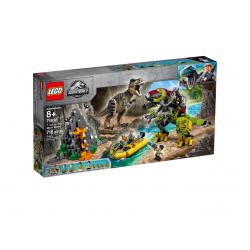 75938 Бой тираннозавра и робота-динозавра