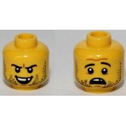 Двойная голова со щетиной и без зуба