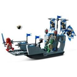 8801 Knights' Attack Barge