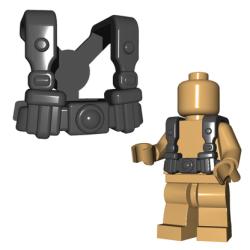 German Infantry Suspenders Dark Gray