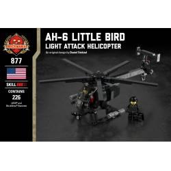 """Вертолет США AH-6 """"Маленькая Птичка"""""""