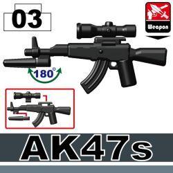 AK47s со съемным прицелом черный