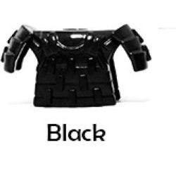Броня самурая черная