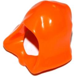 Капюшон оранжевого цвета