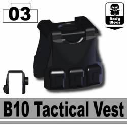 B10 Tactical Vest Black