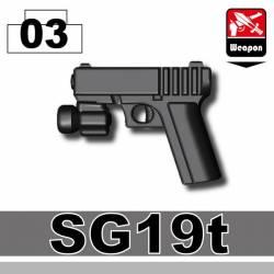 Пистолет SG19t черный