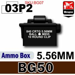 Ammo Box(BG50)03P2-5.56mm Black