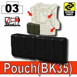 Pouch(BK35) Black
