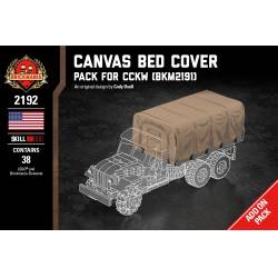 Canvas Bed Cover - Pack for CCKW