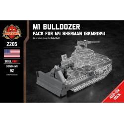 Дополнительный элемент к танку M4 Шерман - Бульдозер