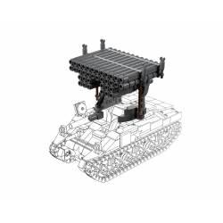 Дополнительный элемент к танку M4 Шерман - Реактивная установка
