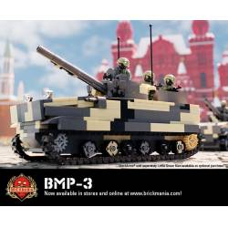 BMP-3 Infantry Fighting Vehicle + 4 Little Green Minifigures