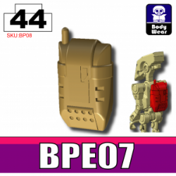 Backpack BPE07 Dark-Tan