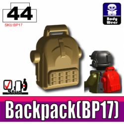BP17 Backpack Dark Tan