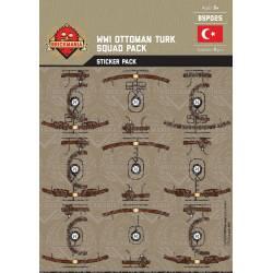 Наклейки солдат Османской Империи Первой Мировой