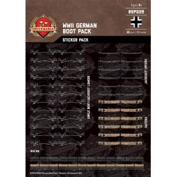WWII German Boot Pack - Stickers