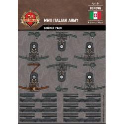 Наклейки для создания Итальянской пехоты
