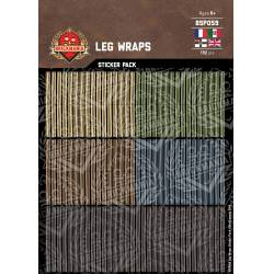 Leg Wraps - Sticker Pack