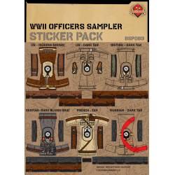 Наклейки для создания Офицерских образов