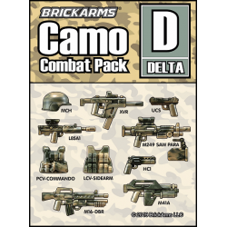 Camo Combat Pack - DELTA