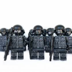 Russian Federal Safety Service minifigure (The FSB)