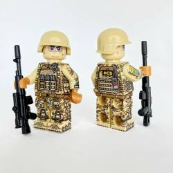 Russian spetsnaz Alfa Group in Syria minifigure v2