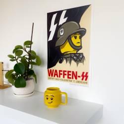 Poster WWII German propaganda Waffen - A3 size