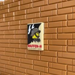 WWII German propaganda Waffen - tile 2x3