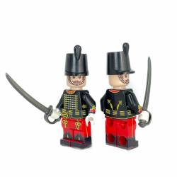 Russian Hussar Red-Black minifigure