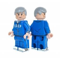 Батя - минифигурка с голубой советской олимпийке