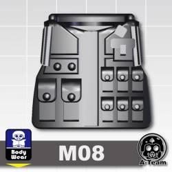 Бронежилет M08 черный