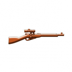 Mosin nagant scoped brown