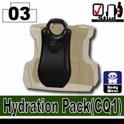 Гидро-рюкзак CQ1 черный