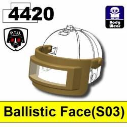 Баллистическая маска S03, темно-тановая