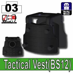 Tactical Vest BS12 black