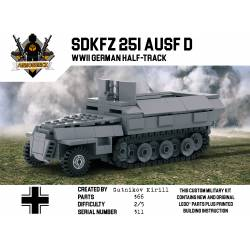 SdKfz 251 - WWII German Armored Vehicle