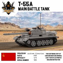 Tank T-55 - Soviet main tank