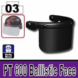Баллистическая маска PT 600 черная
