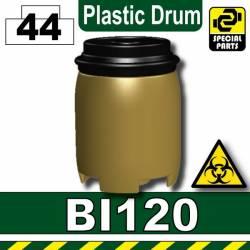 Бочка черного цвета BI120