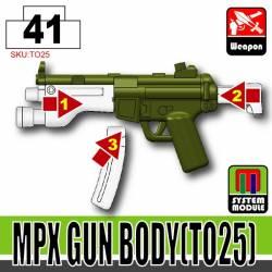 Основа для модульной системы MPX - TO25 зеленого цвета