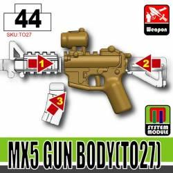 Основа для модульного оружия MX5 TO27 темно-тановая