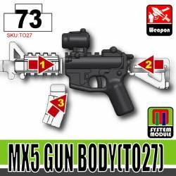 Основа для модульного оружия TO27 светло-черная