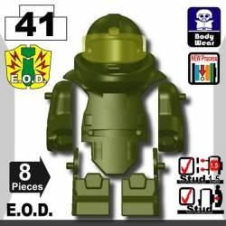 Костюм сапера E.O.D TS70, темно-зеленый