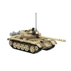 Tank T-55 Tan camo