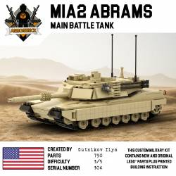 M1A2 Abrams - US main battle tank