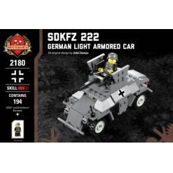 Немецкий бронеавтомобиль Sdkfz 222