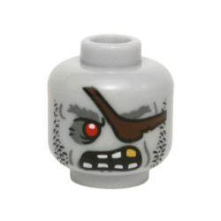 Голова зомби-пирата